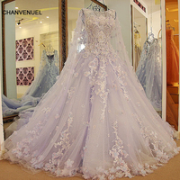 LS54770 New Arrival Long Engagement Dresses With Long Cape Ball Gown Corset Back Long Eveing Gowns