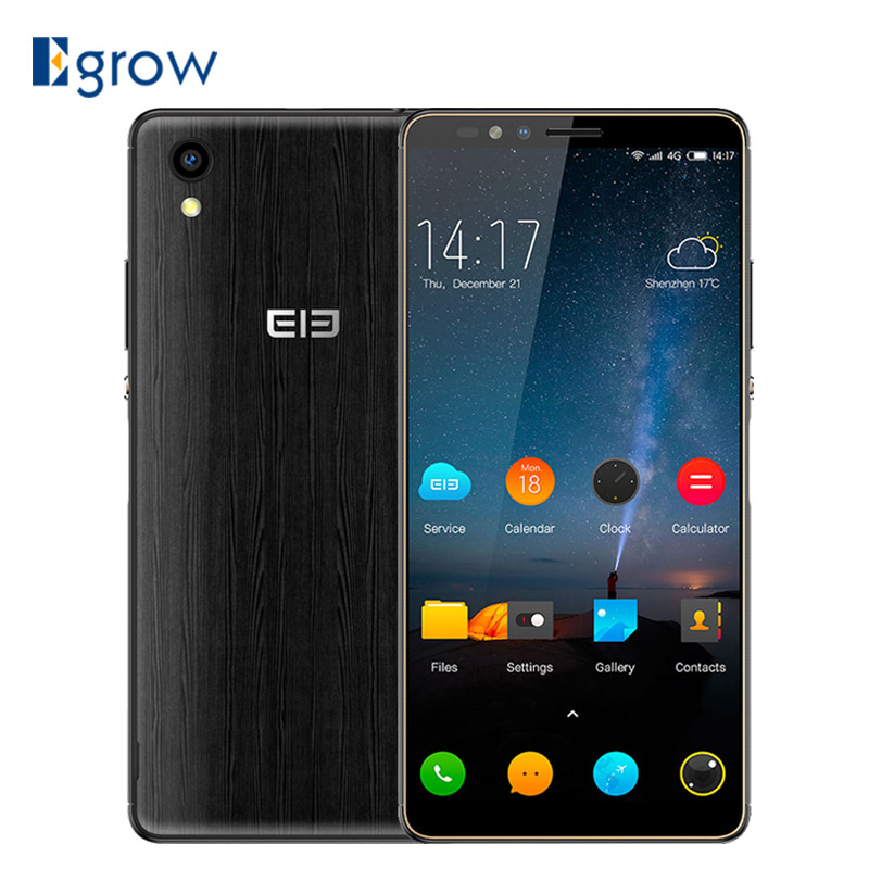 "Elephone A2 Pro MT6739 Quad Core Cell Phone 18:9 HD+Screen 5.47 "" Android 8.1 Smartphone 2GB RAM 16GB ROM 13MP 4G Mobile Phone"