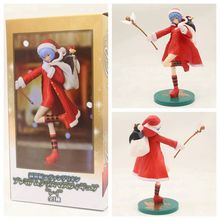 цена Neon Genesis Evangelion EVA Xmas Christmas Ayanami Rei Figure PVC Evangelion Action Figure Collection Model Toys