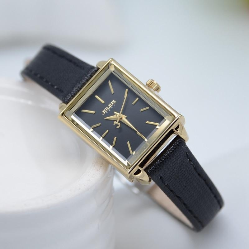 Top oryginalny JULIUS 787 kobiety moda casual zegarek kwarcowy panie - Zegarki damskie - Zdjęcie 2
