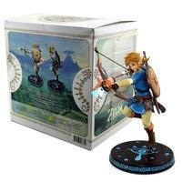 ALEN Link Zelda Legend of Zelda Figure BREATH OF THE WILD LINK 23CM Model Action Figures Pvc Rinquedo