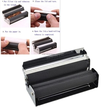 DIY Cigarette Filling Roller Metal Machine Tools Tobacco Accessories Smoking