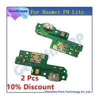 Original Für Huawei P9 Lite USB Lade Port Flex Kabel Für Huawei P9 Lite Dock Connector Ladegerät Ersatz Telefon Flex kabel
