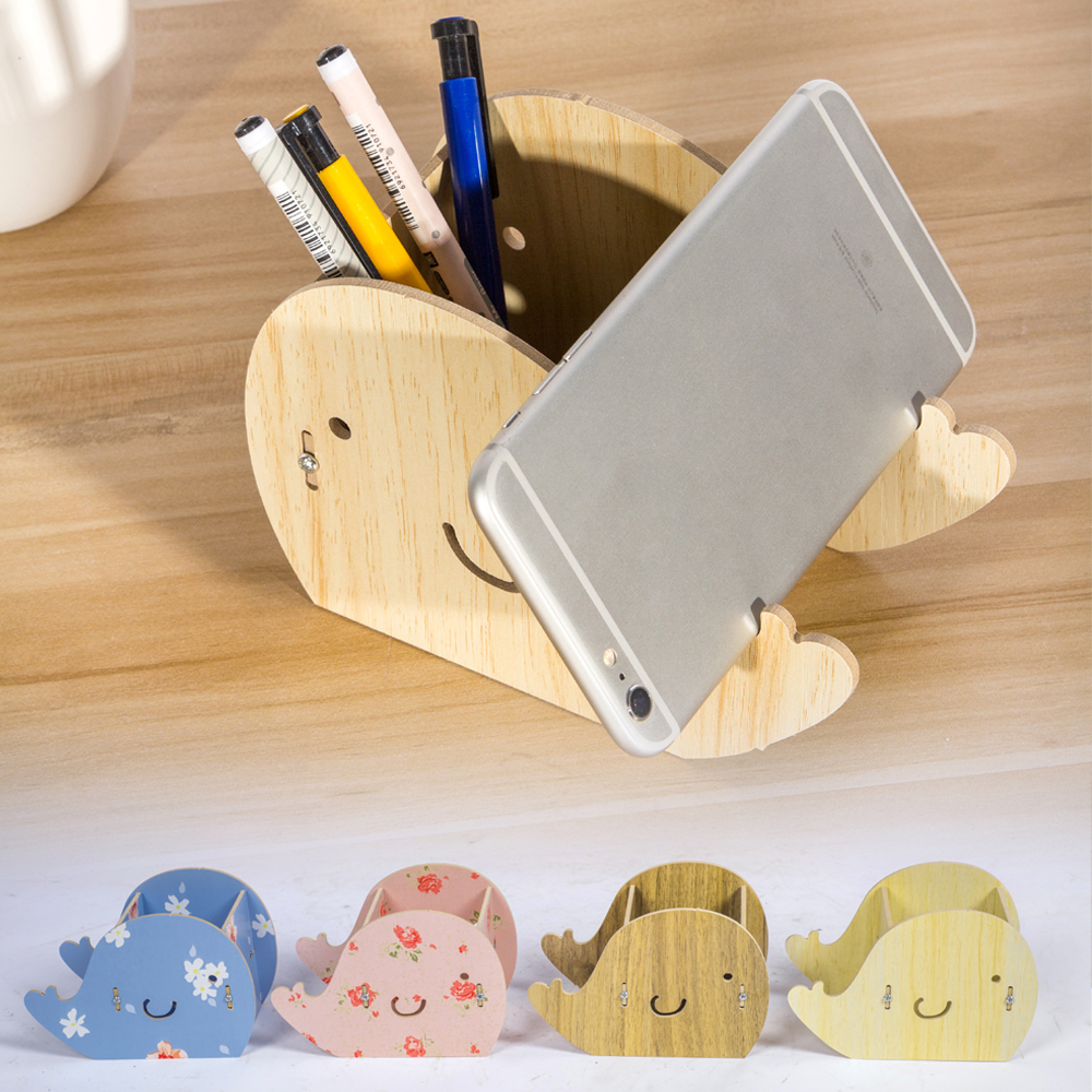 Pen Holder Holders Wood Material Whale Shape 16*11*8 CM Office Desk Accessories Accesorios Escritorio Portapenne Da Scrivania цена 2016