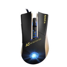 4 Gear Macro Programming Gaming Mouse for Computer Led Light Pro PC Mouse Games Wired USB Steelseries for Professional Gamer