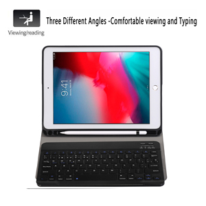 Image 2 - Spanish Keyboard Case For Apple iPad Air 2019 10.5 3 3rd Generation A2152 A2153 A2154 A2123 Pro 10.5 A1701 A1709 Pencil Holder