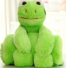 Children'S Toys Sitting Height 76 Cm Two-Color Scarves Stuffed Dog Can Not Ball Lint-Free Green Plush Toy Dog Doll