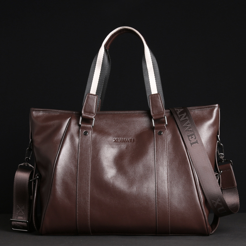 High-end Head Layer of Full Grain Cowhide Single Shoulder Bags Large Business Briefcases Soft Handbags & Crossbody Bags (XW9006)High-end Head Layer of Full Grain Cowhide Single Shoulder Bags Large Business Briefcases Soft Handbags & Crossbody Bags (XW9006)