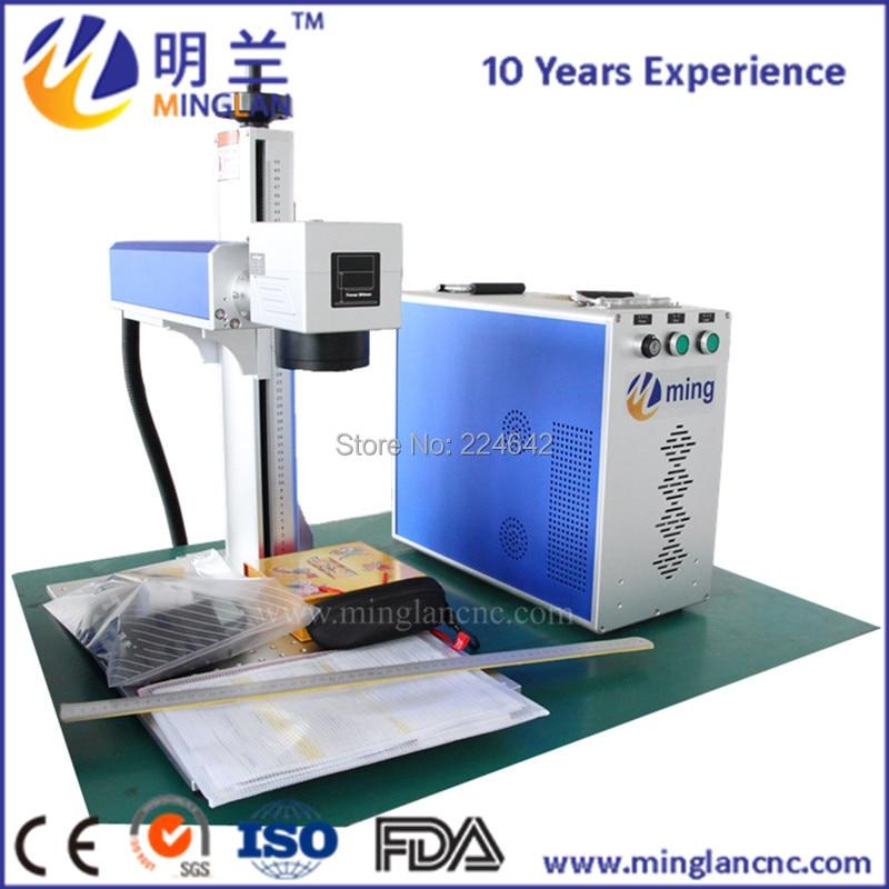 Auto focus portable laser fiber 20W optical fiber laser marking machine