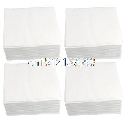1200 x Anti Static Soft Dustless Cloth Cleanroom Wipers 4 x 4