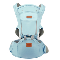 Ergonomic Baby Carrier Infant Kid Baby Hipseat Sling Front Facing Kangaroo Baby Wrap Carrier for Baby Travel 0 18 Months