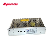 new model 75w dual output D-75B switching power supply 5v 24v with 110/220vac input metal case