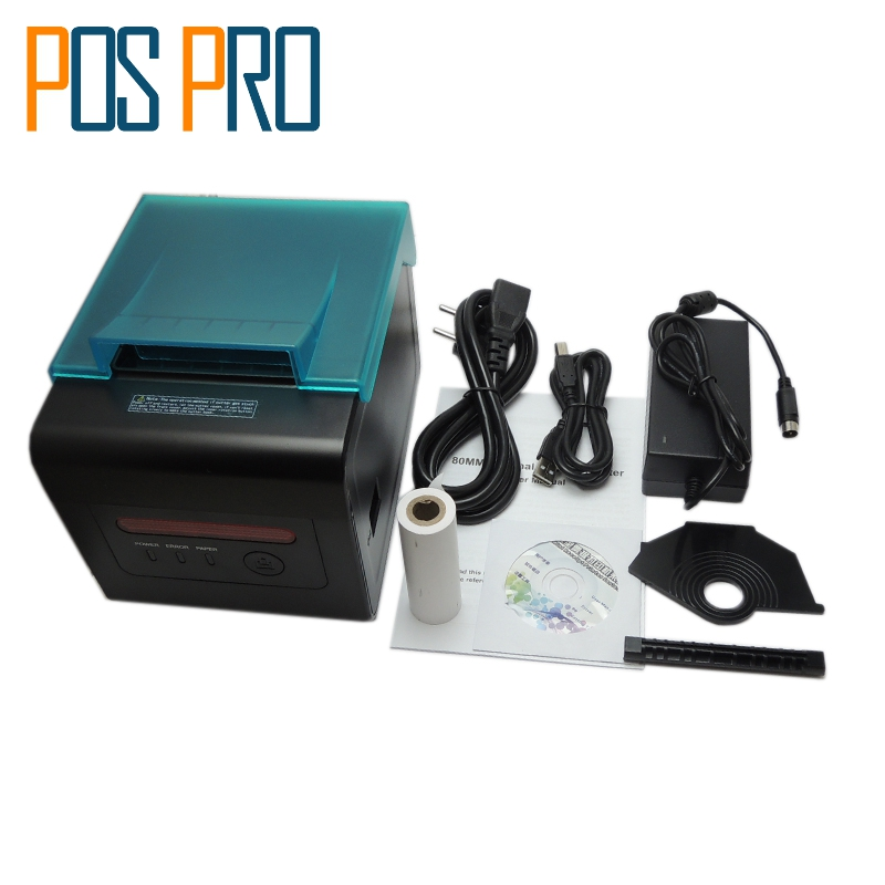 ITPP057 High Quality thermal printer 80mm pos kitchen printer Waterproof automatic cutter USB/Serial/Ethernet/Wifi Port ESC/POS 2017 new arrived usb port thermal label printer thermal shipping address printer pos printer can print paper 40 120mm