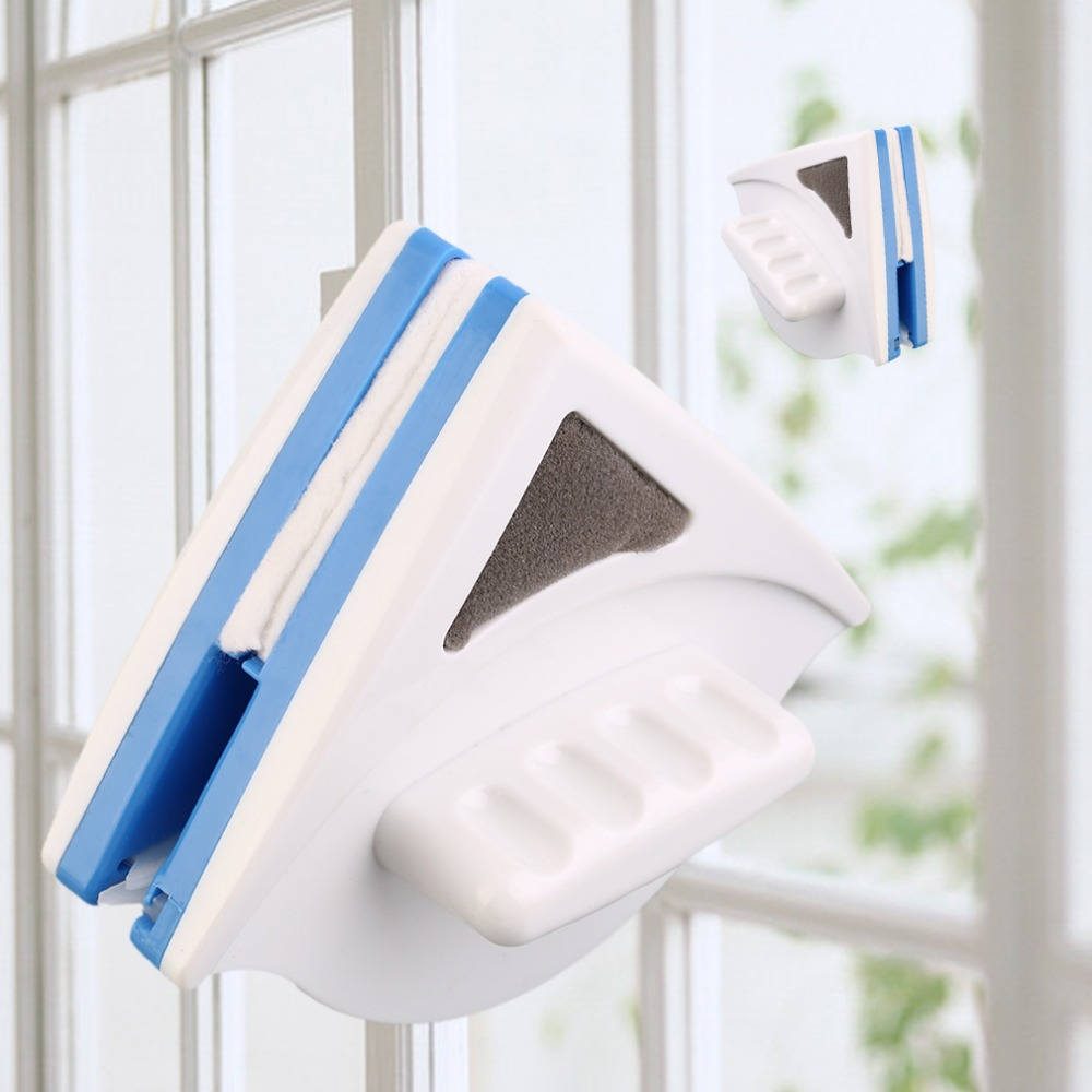2018 New Home Window Glass Cleaner Tool Double Side Magnetic Window Glass Cleaning Machine Wiper Useful Surface Cleaning Tools