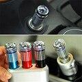 Nova DC 12 V Veículo Ânion Purificador de Ar Mini Car Auto Fresh Air Ionic Purifier Oxygen Bar Ozone Ionizador Interior acessórios