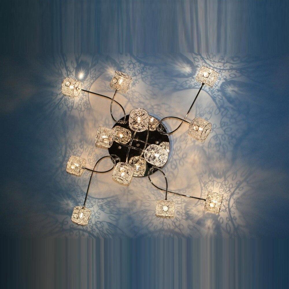 Ժամանակակից ալյումինե մետաղալար Crystal - Ներքին լուսավորություն - Լուսանկար 3