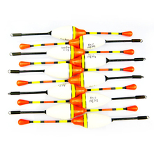 Vissen Fishing Float 10pcs /bag Fishing Float Set Buoy Bobber Fishing Light Stick Fluctuate Floats For Fishing