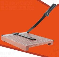 Cortadora de papel DELI munal, cortadora de papel de madera, cortadora de oficina, cortadora de papel B3, cortador de papel de fotos, suministros de corte de oficina
