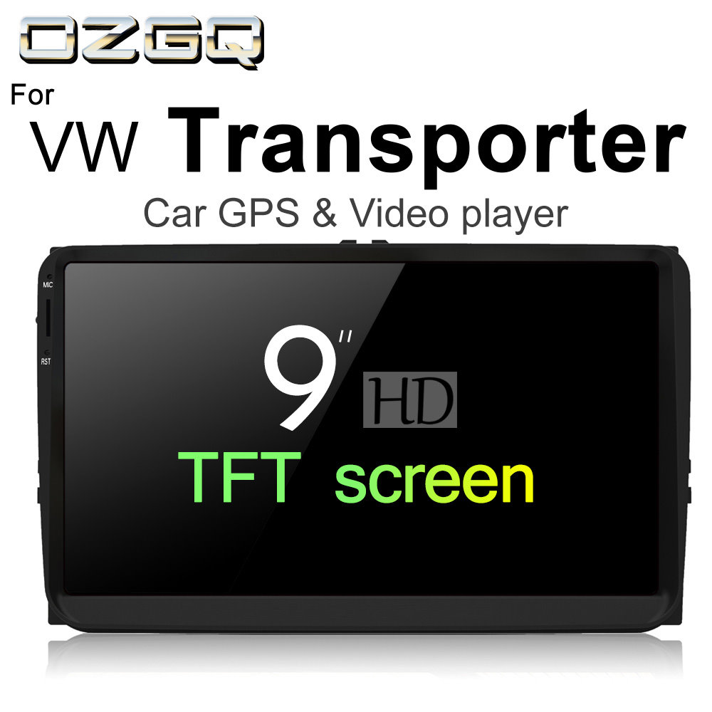 Ozgq Android 7.1 плеер для автомобиля Volkswagen VW транспортер 2003 ~ 2018 HD Экран Авто GPS навигации BT Радио ТВ аудио-Видео Стерео ...