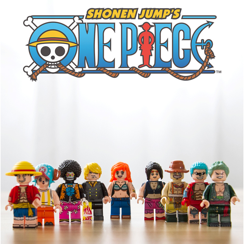 Image 4 - 432pcs One Pieces Compatible Legoingly Thousand Sunny Pirate Ship Luffy Blocks Model Techinc Idea Figures Building Blocks Toys-in Blocks from Toys & Hobbies