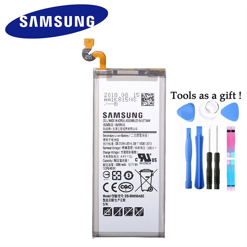 SAMSUNG Replacement Battery Note8 SM-N950F Original for GALAXY 8/Note8/N9500/.. Baikal
