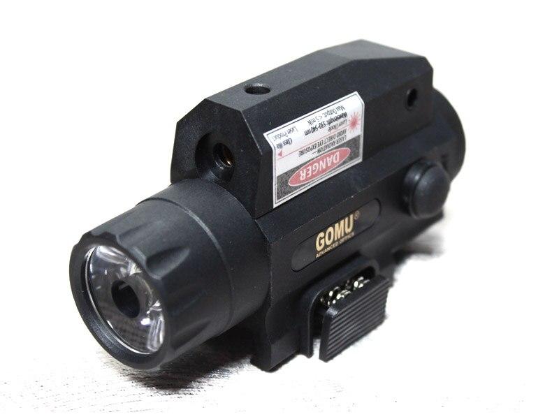 2015 GOMU 2 in1 taktička svjetiljka i crveni laserski sustav - Lov - Foto 2
