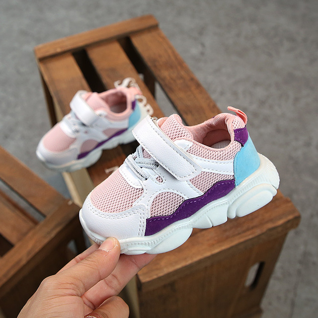 2019 Spring Baby Girls Boys Casual Shoes Infant Toddler Shoes Soft Bottom Non-slip Comfortable Shoes Kids Children Sneakers 1