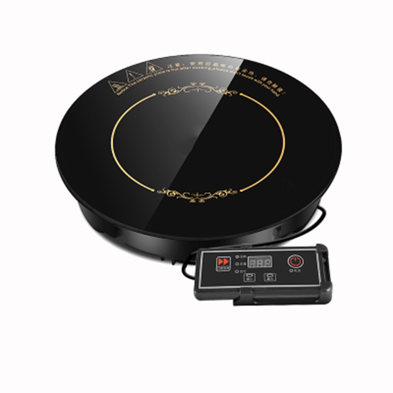 Induction Cooker household hotpot Induction Cooker round embedded commercial shop dedicated Induction Cooker waterproof multi-fu household mini electric induction cooker heat milk water boiled countertop burner stew porridge noodles hotpot stove 2000w eu us