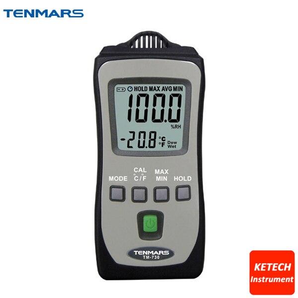Pocket Size Thermometer Hygrometer TM730 цены