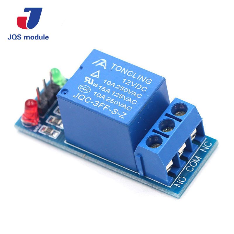 1PCS 12V low level trigger One 1 Channel Relay Module interface Board Shield For PIC AVR DSP ARM MCU Arduino 5v 2 channel ir relay shield expansion board for arduino