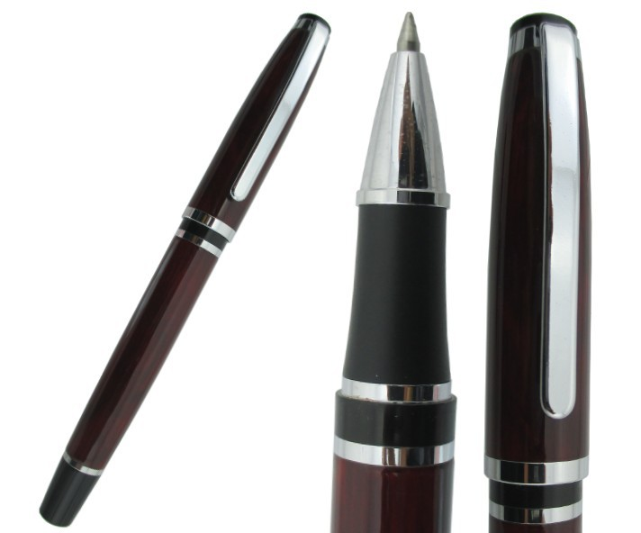 24x Rollerball Pen BAOER 702  Burgundy (Or Black to  Choose ) M Tip  Refill Stationery  Free Shipping