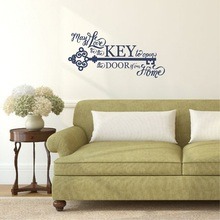 Christian Bible vinyl wall sticker family living room bedroom home decoration mural  2SJ5