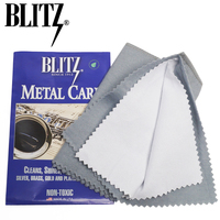U S A BLITZ Double Layer Silver Cloth Clean Cloth Silver Cloth Wiping Rag
