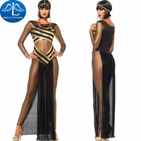 Queen Of the Nile Adult Egyptian Cleopatra Costume For Ladies's Fancy Costume Halloween Costumes For Women Long Dress