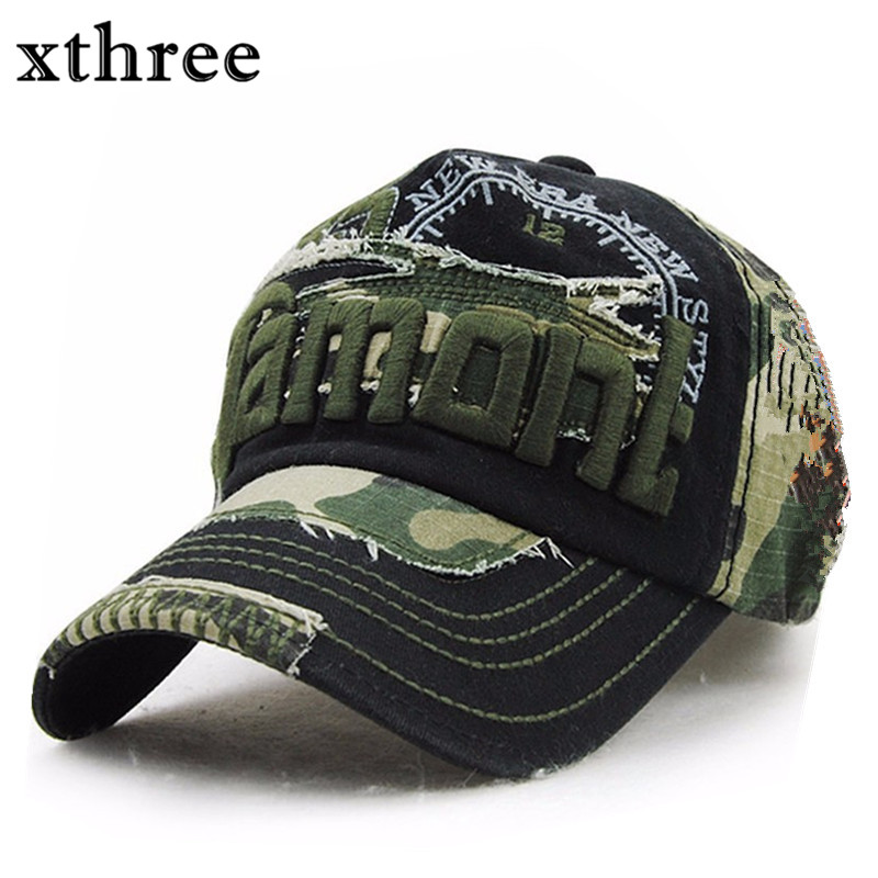 Xthree Unisex Camouflage Baseball Cap Swag Cap Casual