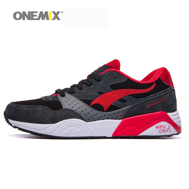 Onemix 2017 Men&Women Classic Retro Shoes Lightweight Lace-Up Mesh Sneakers Running Shoes Sports Shoes Lovers Free Shipping 2017brand sport mesh men running shoes athletic sneakers air breath increased within zapatillas deportivas trainers couple shoes