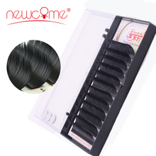 цены All Size 3d Individual mink Eyelash Extension handmade Natural Silk fake  Lashes False Lashes makeup tools