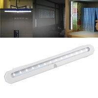 Oobest LED Night Light Night Light Sensor de Movimento 14 LEDs sem fio LEVOU Luzes Roupeiro Armário Luzes 4 * AAA Bateria de Alta qualidade
