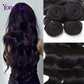 Malaio onda do corpo do cabelo virgem 3 pcs lot venda direta da fábrica personalizado mista cabelo humano tece 8-30 polegadas onda do corpo malaio