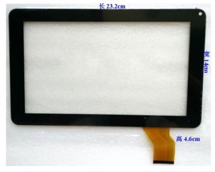 Nueva pantalla original de 9 pulgadas táctil capacitiva de la tableta GM261A090G-1 envío gratis