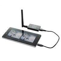 New Arrival Black ROTG01 UVC OTG 5 8G 150CH Full Channel FPV Receiver For Android Mobile