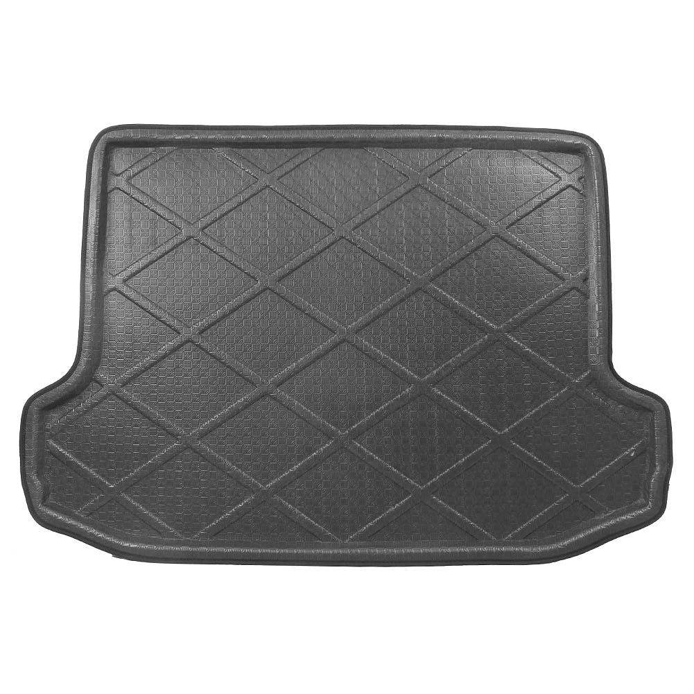 For Toyota RAV4 Rear Trunk Cargo Liner Boot Mat Floor Tray Carpet Mud Kick Protector Cover 2006-2012 Automobile Accessories