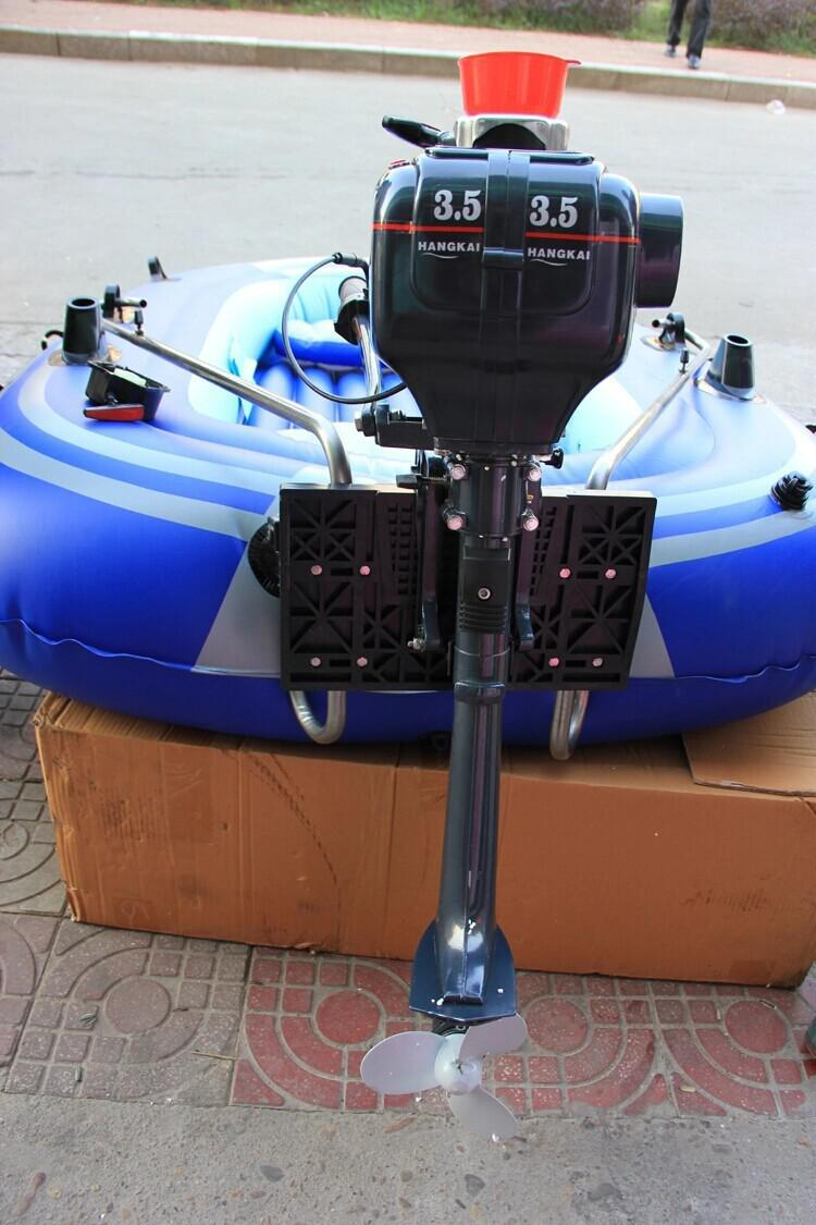 US $332 94 7% OFF|2018 New Design Best Quality 4 stroke 3 6HP HANGKAI  outboard motor boat engine inflatable boat motor-in Boat Engine from  Automobiles