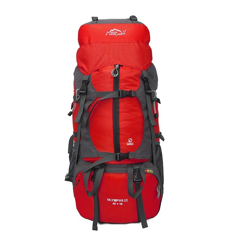 Outdoor Travel Backpack 65L Men Women Big Waterproof Sport Bag Hiking camping