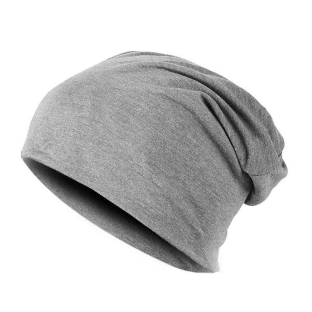 Spring Women Men Unisex Knitted Winter Cap Casual Beanies Solid Color Hip-hop Snap Slouch Skullies Bonnet beanie Hat Gorro 2