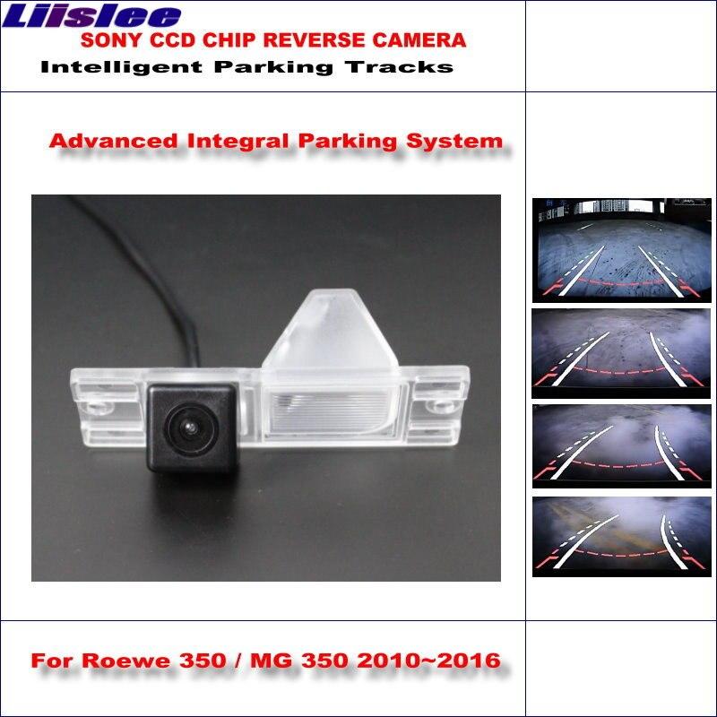 Liislee caméra arrière arrière arrière pour Roewe 350/MG 350 2010 ~ 2016/HD 860*576 Pixels 580 lignes de télévision pistes de stationnement intelligentes