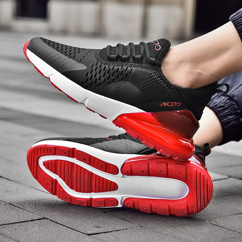 Summer New Sneakers Men Running Shoes Men Breathable Athletic Outdoors Sport Shoes Men Adults Trainers Lace-up Men Sneakers