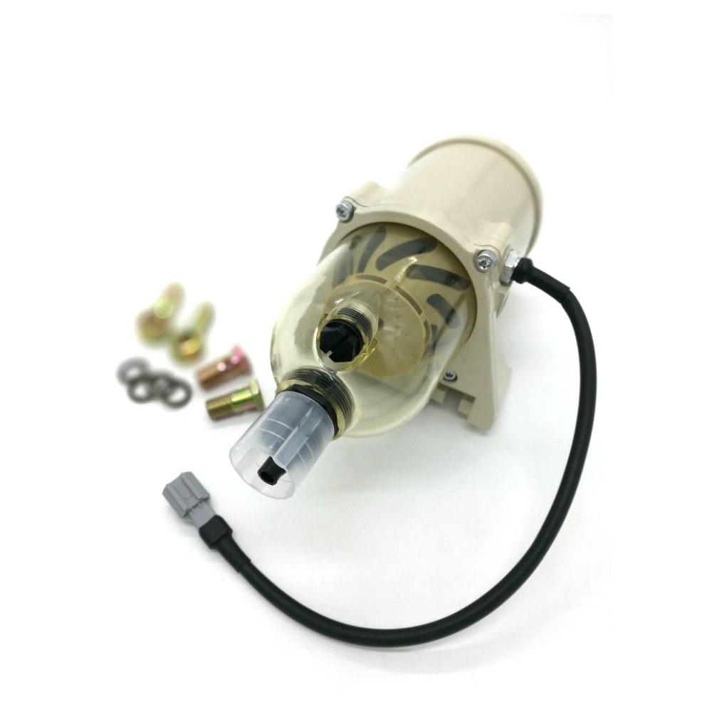 500FG Fuel water separator filter with heater  ( 12V 24V)  diesel engine and  2010PM filter water separator filter water separator water filter 1/2 - title=