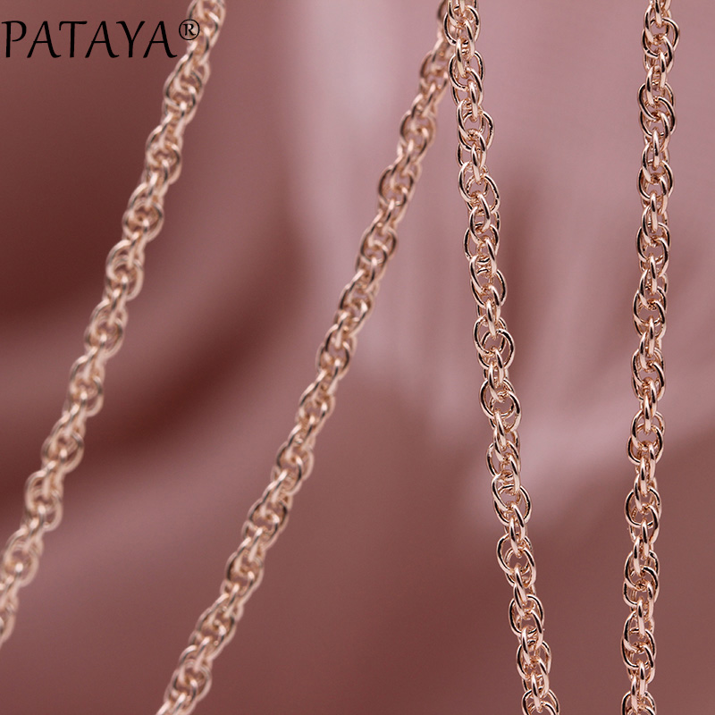 HTB1xkH0Oa6qK1RjSZFmq6x0PFXa1 - PATAYA New 328 Anniversary Water Drop Long Necklace Women Fashion Jewelry 585 Rose Gold Wedding Fine Cute Shell Pearls Pendants
