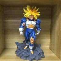 33 см Dragon Ball Z DBZ Супер Saiyan jin 3 Мужские Шорты для купания GK статуя смолы модели фигурку игрушки Коллекция Модель brinquedos рисунок